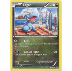 Bagon 55/108 Common - Pokemon XY Roaring Skies Card