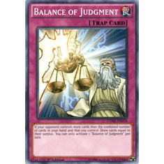 Balance of Judgment CORE-EN078 Common - YuGiOh Clash of Rebellions Card