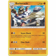Barbaracle 67/131 Rare - Pokemon Sun & Moon Forbidden Light Card