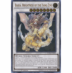 Baxia, Brightness of the Yang DUEA-EN051 - ULTIMATE RARE Duelist Alliance Card