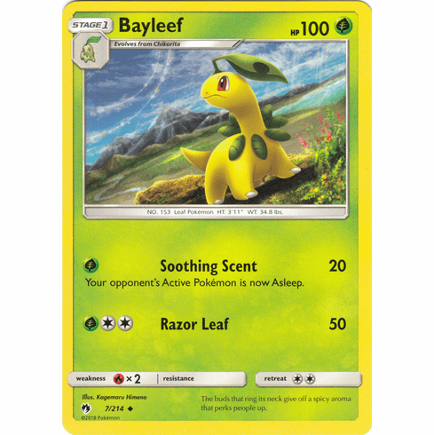 Bayleef - 7/214 Pokemon » SM Lost Thunder Uncommon