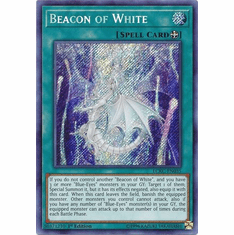 Beacon of White LCKC-EN035 Secret Rare - Legendary Collection Kaiba