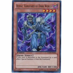 Beiige, Vanguard of Dark World LCJW-EN242 - YuGiOh Joey's World Ultra Rare