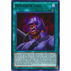 Berserker Soul DRL3-EN047 Ultra Rare - YuGiOh Dragons of Legend Unleashed Card