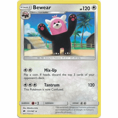 Bewear 111/147 Rare - Pokemon Sun & Moon Burning Shadows Card