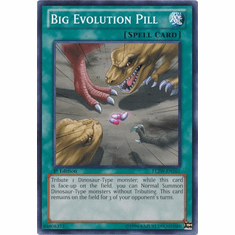 Big Evolution Pill LCJW-EN161 - YuGiOh Joey's World Common Card