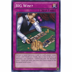 BIG Win!? SHSP-EN080 - YuGiOh Shadow Specters Common