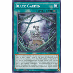 Black Garden YuGiOh � Legendary Duelists: Sisters of the Rose Common