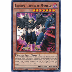 Blackwing - Abrolhos the Megaquake LC5D-EN125 - Legendary Collection 5D's