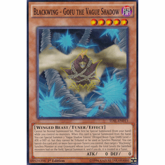 Blackwing - Gofu the Vague Shadow TDIL-EN013 Common - YuGiOh The Dark Illusion Card