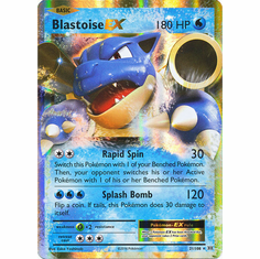 Blastoise EX 21/108 Ultra Rare - Pokemon XY Evolutions Single Card