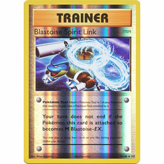 Blastoise Spirit Link 73/108 Uncommon - Reverse Pokemon XY Evolutions Single Card