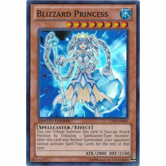 Blizzard Princess CT09-EN009 - YuGiOh 2012 Wave 1 Tin Super Rare Promo