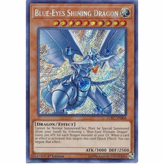 Blue-Eyes Shining Dragon LCKC-EN008 Secret Rare - Legendary Collection Kaiba