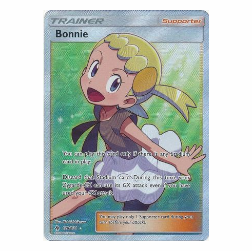Bonnie 128/131 Full Art - Pokemon Sun & Moon Forbidden Light Card