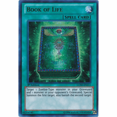 Book of Life LCJW-EN211 - YuGiOh Joey's World Ultra Rare Card