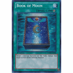 Book of Moon LCJW-EN288 - YuGiOh Joey's World Secret Rare Card