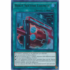 Boot Sector Launch EXFO-EN053 Ultra Rare - YuGiOh Extreme Force