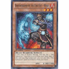 Brotherhood of the Fire Fist - Wolf LTGY-EN026 - Lord Of The Tachyon Galaxy Common