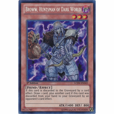 Broww, Huntsman of Dark World LCJW-EN243 - YuGiOh Joey's World Secret Rare