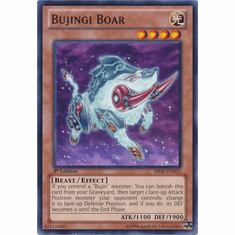 Bujingi Boar SHSP-EN025 - YuGiOh Shadow Specters Common Card