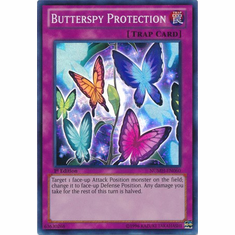 Butterspy Protection NUMH-EN060 - YuGiOh Number Hunters Super Rare Card