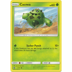 Cacnea 5/111 Common - Pokemon Crimson Invasion Card