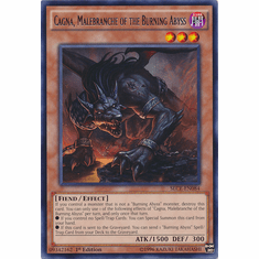 Cagna, Malebranche of the Burning Abyss SECE-EN084 Rare Single Card