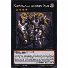 Cairngorgon, Antiluminescent Knight WIRA-EN049 Common - YuGiOh Wing Raiders Card