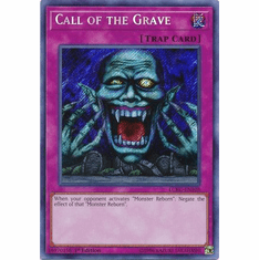 Call of the Grave LCKC-EN103 Secret Rare - Legendary Collection Kaiba