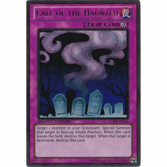 Call of the Haunted GLD5-EN046 - YuGiOh Haunted Mine Gold Rare Card