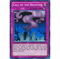 Call of the Haunted LCJW-EN217 - YuGiOh Joey's World Super Rare Card