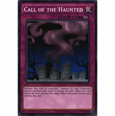 Call of the Haunted WIRA-EN057 Common - YuGiOh Wing Raiders Card
