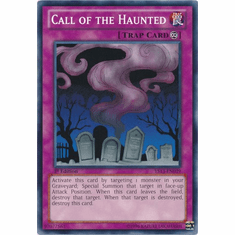 Call of the Haunted YS13-EN039 - YuGiOh V For Victory Common Card