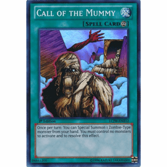 Call of the Mummy LCJW-EN212 - YuGiOh Joey's World Super Rare Card