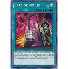 Card of Demise LCKC-EN029 Secret Rare - Legendary Collection Kaiba
