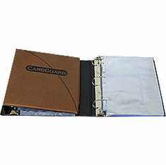 CardGuard Football Card Collection Binder With 60 Sheets