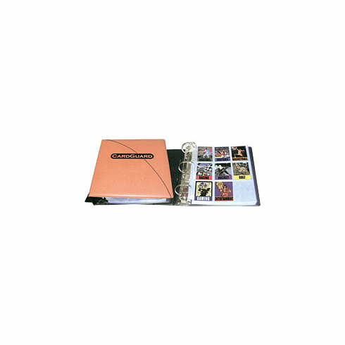 "Cardguard Sports Card Binder 3"" Binder With Sheets"