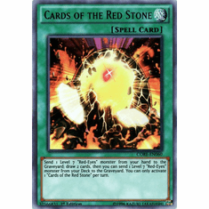 Cards of the Red Stone CORE-EN060 Ultra Rare - YuGiOh Clash of Rebellions Card