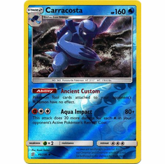 Carracosta - 45/236 - Uncommon Reverse Holo Sun & Moon: Unified Minds Reverse Holo