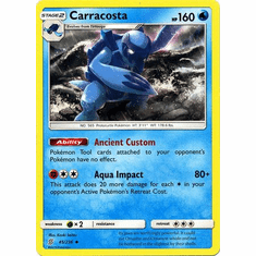 Carracosta - 45/236 - Uncommon Sun & Moon: Unified Minds