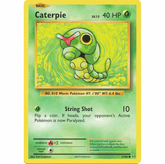Caterpie 3/108 Common - Pokemon XY Evolutions Single Card