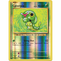 Caterpie 3/108 Common - Reverse Pokemon XY Evolutions Single Card