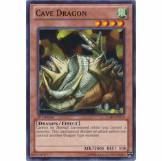 Cave Dragon LCJW-EN279 - YuGiOh Joey's World Common Card