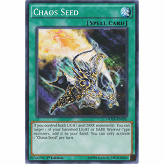 Chaos Seed DUEA-EN092 - Common Duelist Alliance Card