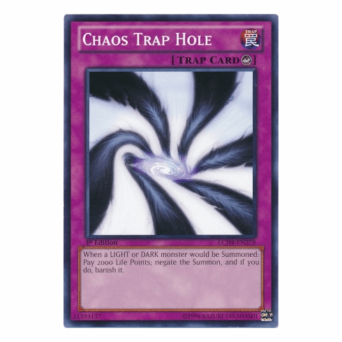 Chaos Trap Hole LCJW-EN278 - YuGiOh Joey's World Common Card