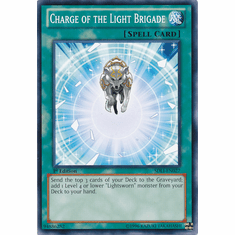 Charge of the Light Brigade SDLI-EN027 - YuGiOh Realm Of Light Common Card