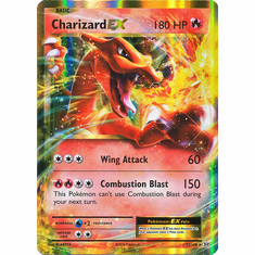 Charizard EX 12/108 Ultra Rare - Pokemon XY Evolutions Single Card