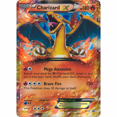 Charizard EX XY17 - Pokemon Promo Holo OVERSIZED Ultra Rare Card