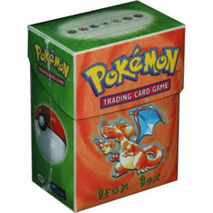 Charizard Pokemon Deck Box w/60 Sleeves